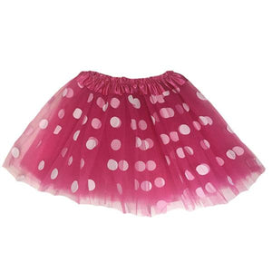 Polka Dot Tutu Skirt (Age 3-6) Dress Up Not specified D. Pink