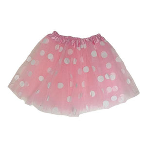 Polka Dot Tutu Skirt (Age 3-6) Dress Up Not specified L. Pink