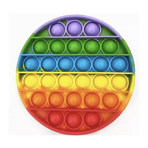 Pop It Bubble Fidget Toy - Multicolour Circle Toys Pop It