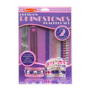 Press-on Rhinestone Bracelet Toys Melissa & Doug