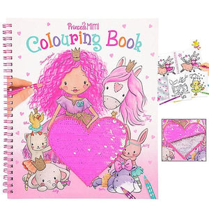 Princess Mimi Col Book Sequins Toys Top Model