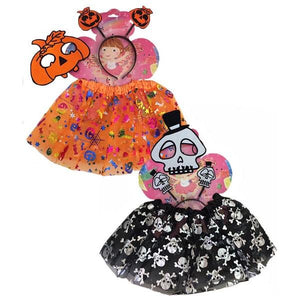 Pumpkin Tutu Set Dress Up Not specified