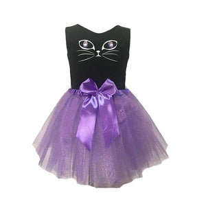 Purple Cat Tutu Dress Up Not specified