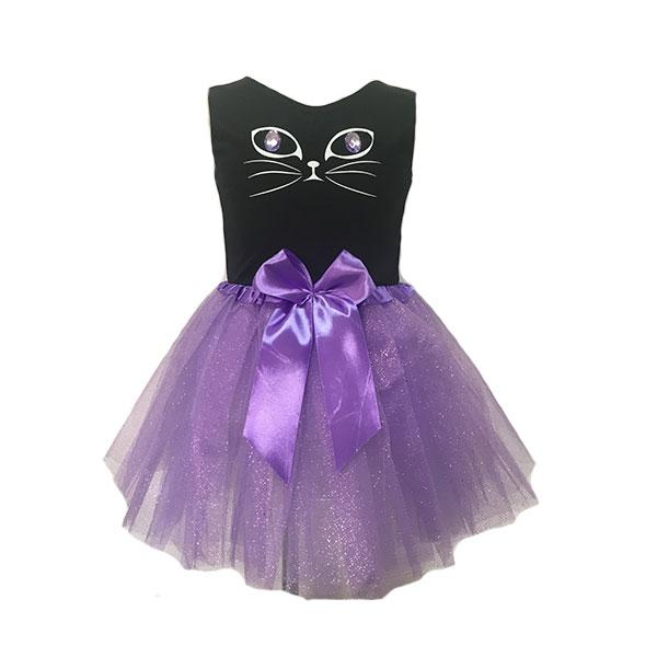 Purple Cat Tutu