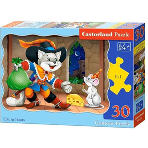 Puss in Boots 30PC Toys Castorland