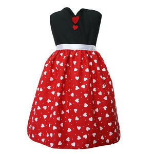Queen of Hearts Apron Dress Up Not specified