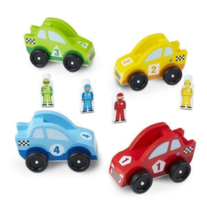 Race Car Vehicle Set Toys Melissa & Doug