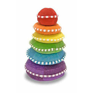 Rainbow Stacker Plush Toys Melissa & Doug