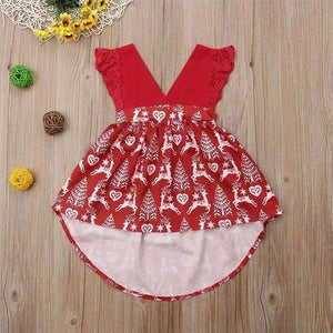 Red Christmas Dress Clothing Not specified