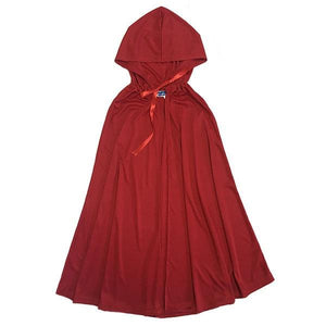 Red Hooded Cape Dress Up Not specified