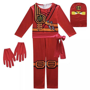 Red Ninjago Kai Dress Up Not specified