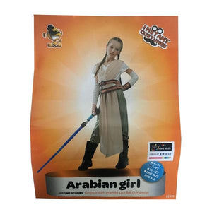 Rey Costume Star Wars (Age 7-9) Dress Up Not specified