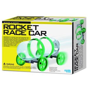 Rocket Race Car Toys 4M