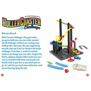 Roller Coaster Challenge Toys Think Fun
