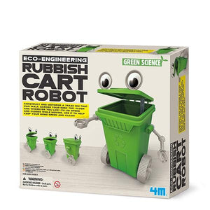 Rubbish Cart Robot Toys 4M