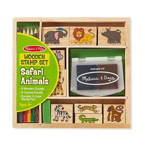 Safari Animal Stamp Pad Toys Melissa & Doug