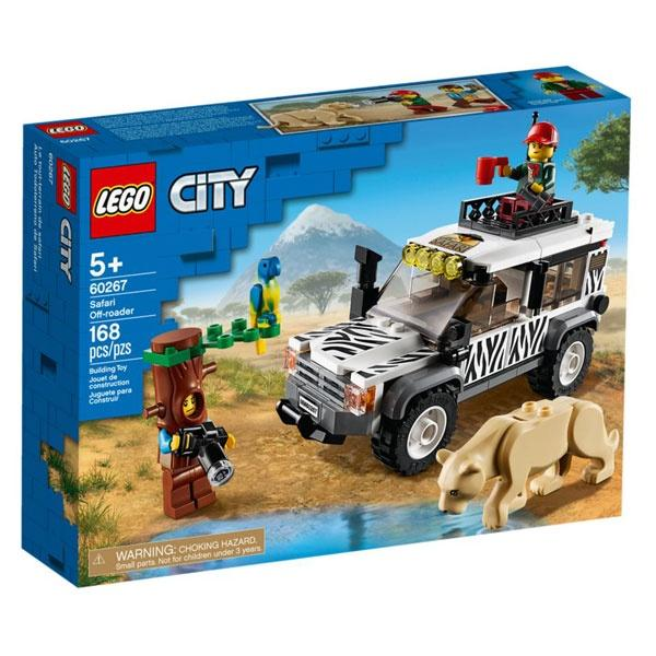 Safari OFF-roader City Lego