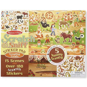Scratch and Sniff Tempting Treats Toys Melissa & Doug