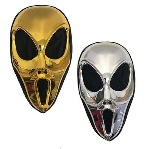 Scream Mask Metallic Dress Up Not specified