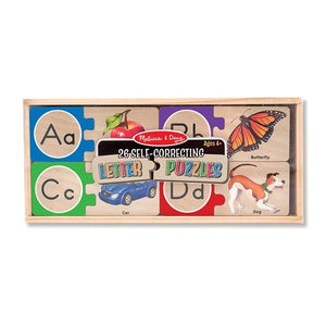Self-Correcting Letter Puzzles Toys Melissa & Doug