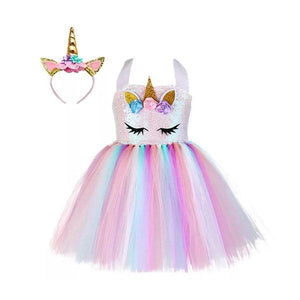 Sequin Unicorn Dress Dress Up Not specified