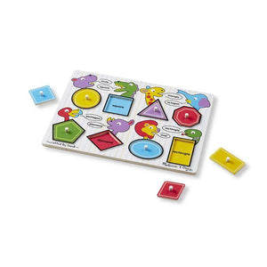 Shapes Peg Toys Melissa & Doug