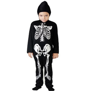 Skeleton Hood and Jumpsuit Dress Up Not specified