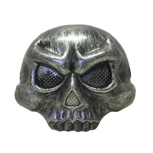 Skull Mask Silver Dress Up Not specified