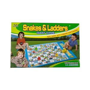 Snakes & Ladders Giant Game Toys Not specified