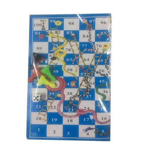 Snakes & Ladders Paper Game Parties Not specified