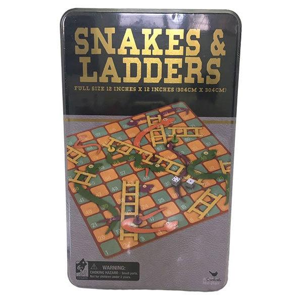 Snakes & Ladders Tin