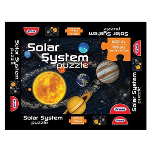 Solar System Puzzle 108pc Toys Not specified