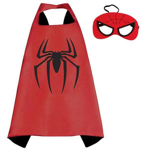 Spiderman Cape & Mask Dress Up Not specified