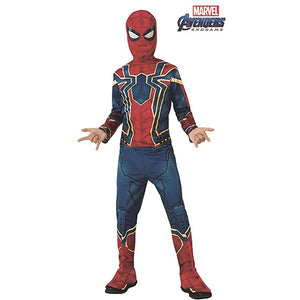 Spiderman Infinity War Costume Dress Up Avengers (Marvel)