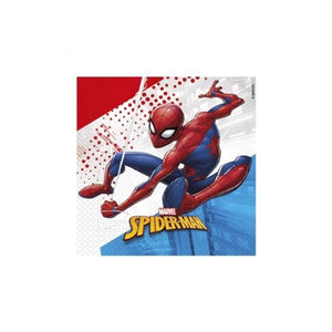 Spiderman Serviettes Parties Not specified