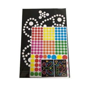 Sticker Art Dots Toys Not specified