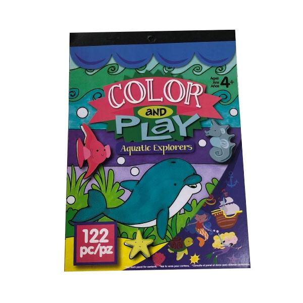 Sticker Book Colour & Play