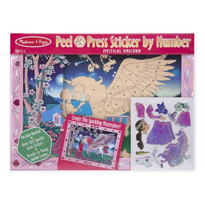 Sticker by Number - Mystical Unicorn Toys Melissa & Doug