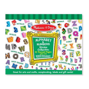 Sticker Collection - Alphabet and Numbers Toys Melissa & Doug