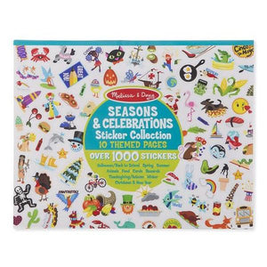 Sticker Collection - Seasons and Celebrations Toys Melissa & Doug
