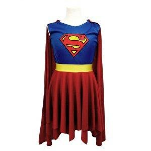 Supergirl Outfit Dress Up Not specified