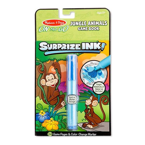 Suprize Ink Book -Jungle Animals