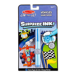 Suprize Ink Book- Vehicles Toys Melissa & Doug