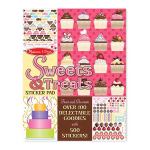 Sweets and Treats Sticker Pad Toys Melissa & Doug