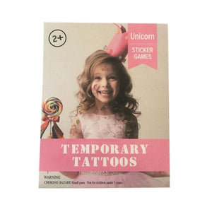 Temporary Tattoos Unicorn Toys Not specified