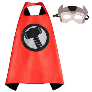 Thor Cape & Mask Dress Up Not specified