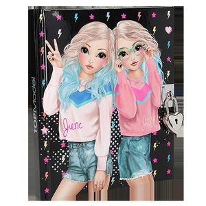 TM Diary w Lock 2 Girls Toys Top Model