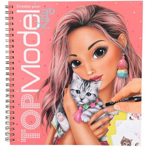TM Kitty Colouring Book Toys Top Model