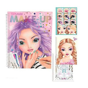 TM Make-Up Colouring Book Toys Top Model