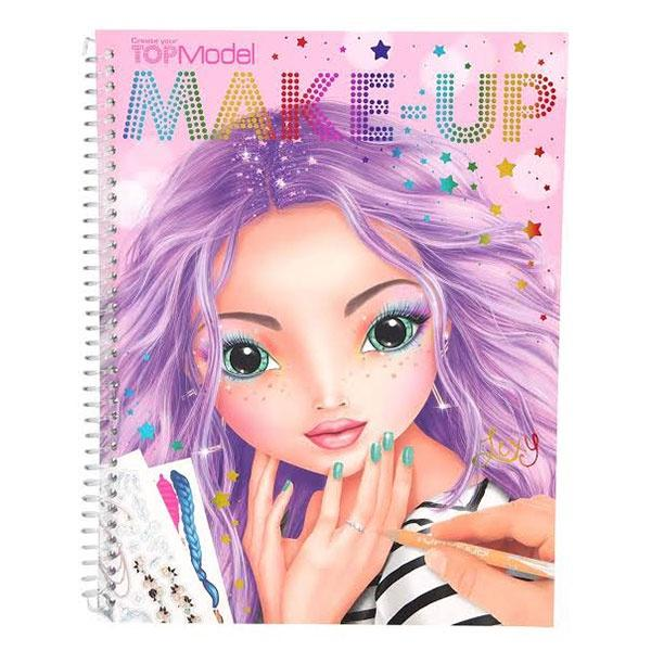 TM Make-Up Colouring Book